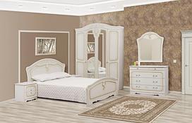 Спальня  Луиза комплект. Шкаф 4Д. Світ Меблів.