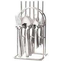 Столовый набор Maestro MR-1527 (24 предмета) | набор столовых приборов Маэстро | ложки и вилки Маестро