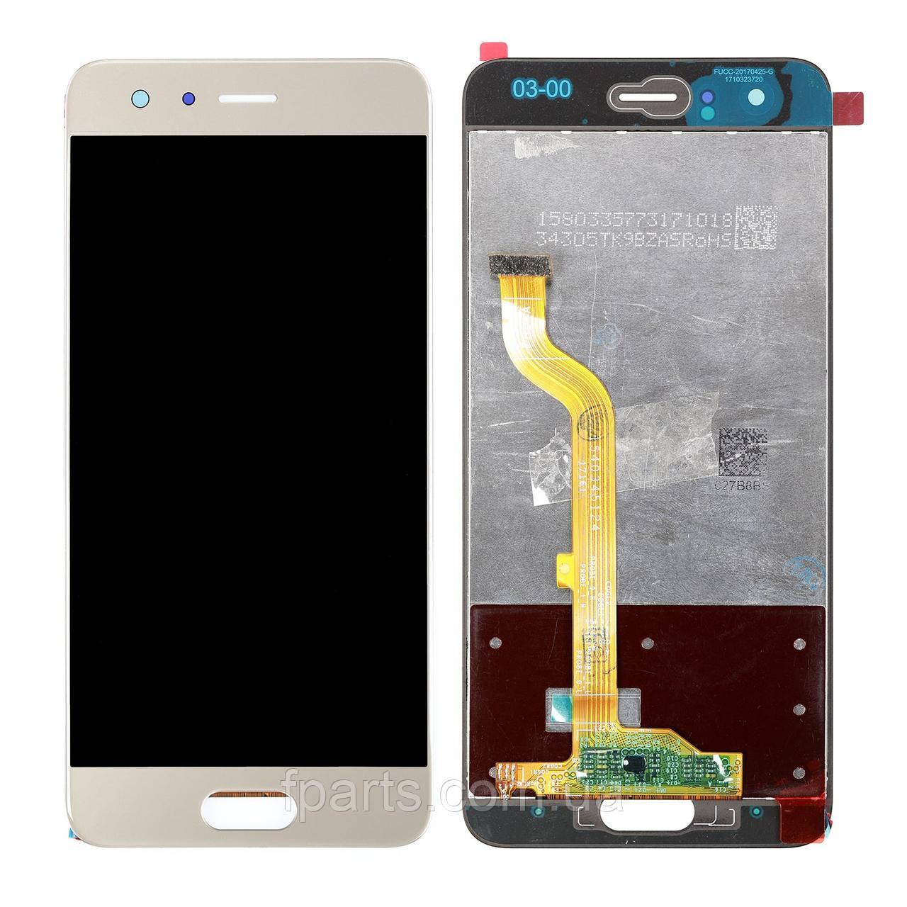Дисплей для Huawei Honor 9 (STF-L09) с тачскрином, Gold