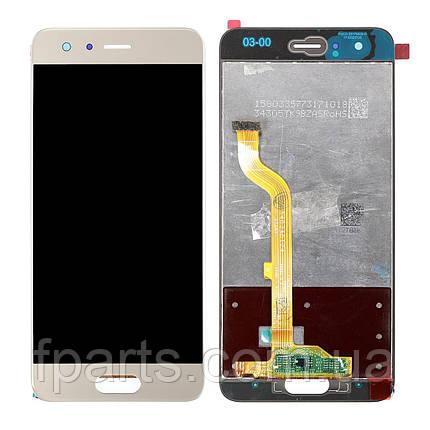 Дисплей для Huawei Honor 9 (STF-L09) с тачскрином, Gold, фото 2