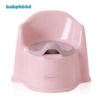 Детский горшок ЙоЙо розовый, Babyhood BH-102P
