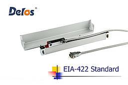 Оптическая линейка Delos DLS-W5R0800 (измеряемая длина 800 мм) 5 мкм 5 вольт EIA-422A