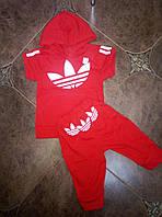 Детский летний костюм Адидас 104-110см