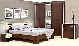 Спальня  Элегия комплект. Шкаф 3Д. Світ Меблів.