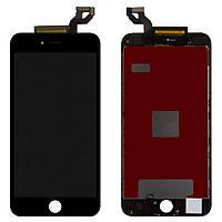 Дисплей для iPhone 6S Plus, модуль в сборе (экран и сенсор), с рамкой, черный, оригинал 100%
