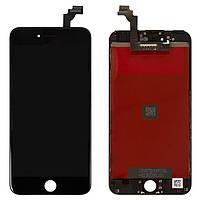 Дисплей для iPhone 6 Plus, модуль в сборе (экран и сенсор), с рамкой, черный, оригинал (100%)