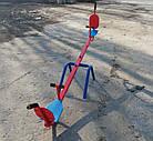 Балансир. Дитячі гойдалки зі спинкою., фото 3
