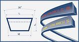 Ремень 45х20-2362 (HL 2362) Harvest Belts (Польша) 3098212M2 зубч. Massey Ferguson, фото 2