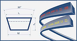 Ремень 45х20-3242 (HL 3242) Harvest Belts (Польша) 84981849 New Holland, фото 2