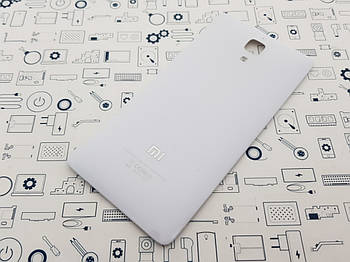 Крышка Xiaomi Mi4 белая Сервисный оригинал с разборки