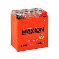 Мото акумулятор GEL MAXION YTX 7L-BS (12V, 7A)