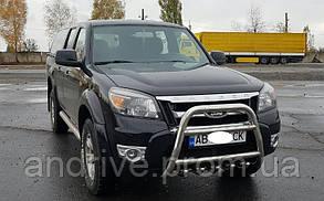 Кенгурятник высокий (защита переднего бампера) Ford Ranger 2006-2012