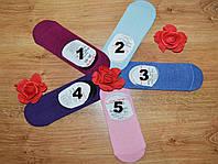 Следы женские однотонные разного цвета р.36-40