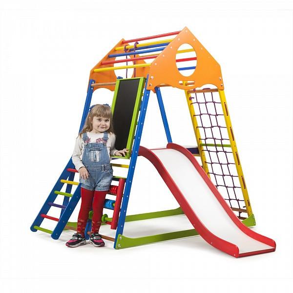 Детский спортивный комплекс для дома KindWood Color Plus 3