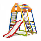 Детский спортивный комплекс для дома KindWood Color Plus 3, фото 4