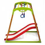 Детский спортивный комплекс для дома BabyWood Plus 1, фото 5