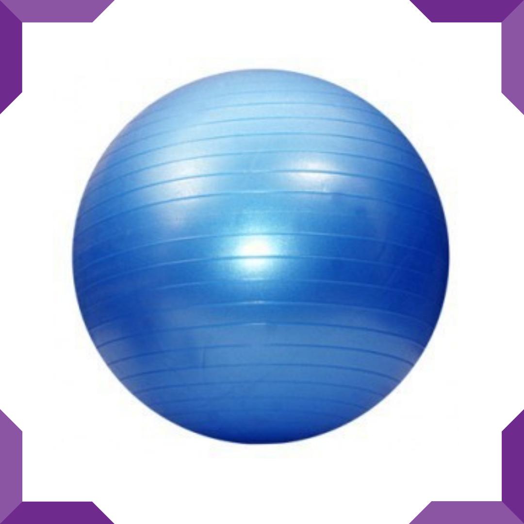 Мяч для фитнеса KingLion 55 см гладкий + насос(цвета в ассортименте)