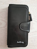 Женский кошелек клатч портмоне Baeller Forever черный, фото 1