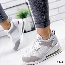 Кросівки жіночі білі. Кросівки жіночі з еко шкіри. Кеди жіночі. Мокасини жіночі. Кріпери жіночі, фото 2