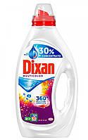 Гель для стирки Dixan для цветной одежды 20 стирок, 1000мл