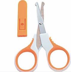 Ножницы маникюрные с колпачком  Lindo А-70