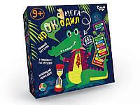 Настольная игра викторина Мега-крокодил рус Dankotoys