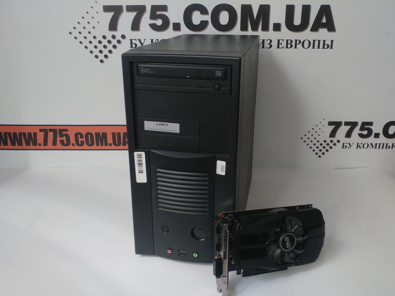Игровой компьютер EuroCom, Intel Core i5 3.4GHz, RAM 8ГБ, SSHD 500ГБ, GeForce GT 1030 2GB
