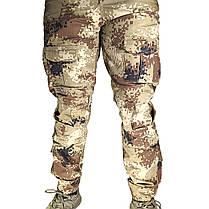 Тактические штаны Lesko B603 Pixel Desert 32 размер мужские брюки военные для силовых структур карманы пиксель, фото 3
