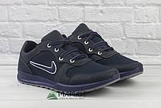 Кросівки чоловічі сітка сині, фото 2