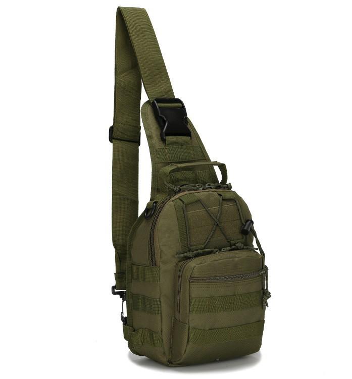 Сумка-рюкзак штурмовая тактическая Battler v.2 NAH00241 Темно-зеленый (tau_krp390_00241)