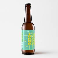 """Пиво """"Blanche du melon""""світле нефільтроване непастеризоване 0.33л"""