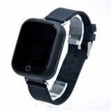 Детские умные часы-телефон с GPS трекером Smart Watch Q100 Чёрные, фото 7