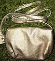 Золотая  оригинальная  мини   сумка кошелек  кроссбоди   Aeropostale (США), фото 2