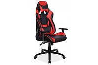 Кресло офисное Supra черно красное Signal