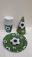 Набір дитячої паперової посуду Футбол