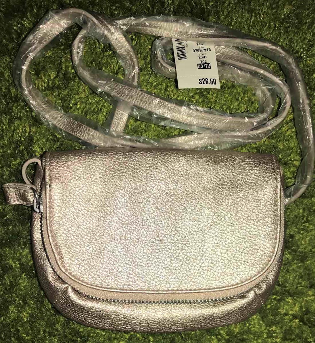 Золотая  оригинальная  мини   сумка кошелек  кроссбоди   Aeropostale (США)