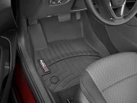 Ковры резиновые WeatherTech Opel Insignia 2018+  передние черные