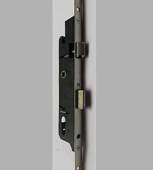Замок рейка для металлопластиковых дверей защелка язычек PAVO 170.160.385.135 1600 мм 85 мм 35 дорнмас