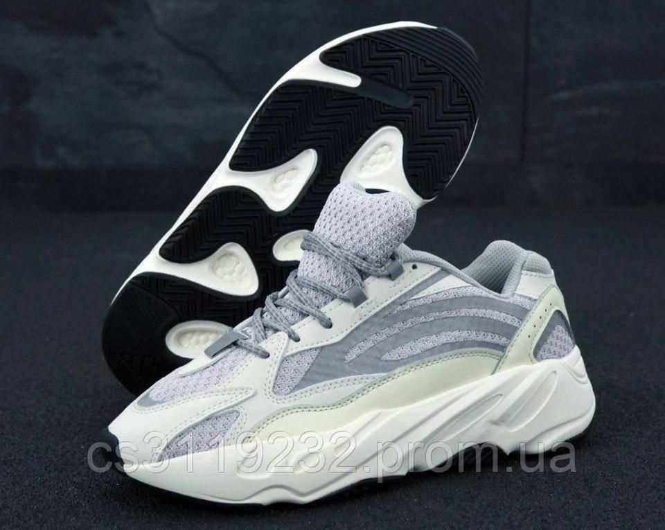 Жіночі кросівки Adidas Yeezy Boost 700 Static (сірі)