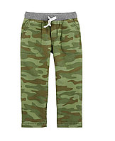 Штаны камуфляж зеленые, carters 4т,