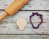 3D формочка для печенья - Клубника | Вырубка для печенья на заказ, фото 2
