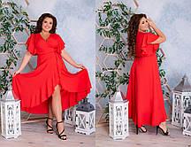 Женское длинное платье большого размера.Размеры:48-62.+Цвета