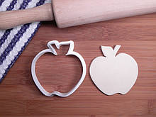 3D формочка для печенья - Яблоко | Вырубка для печенья на заказ