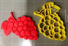 3D вирубка для печива - Виноград | Вирубка для печива на замовлення