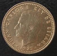 1 peseta 1975 года