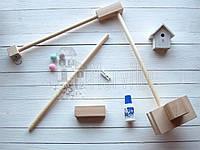 Основа для мобиля деревянная прямая