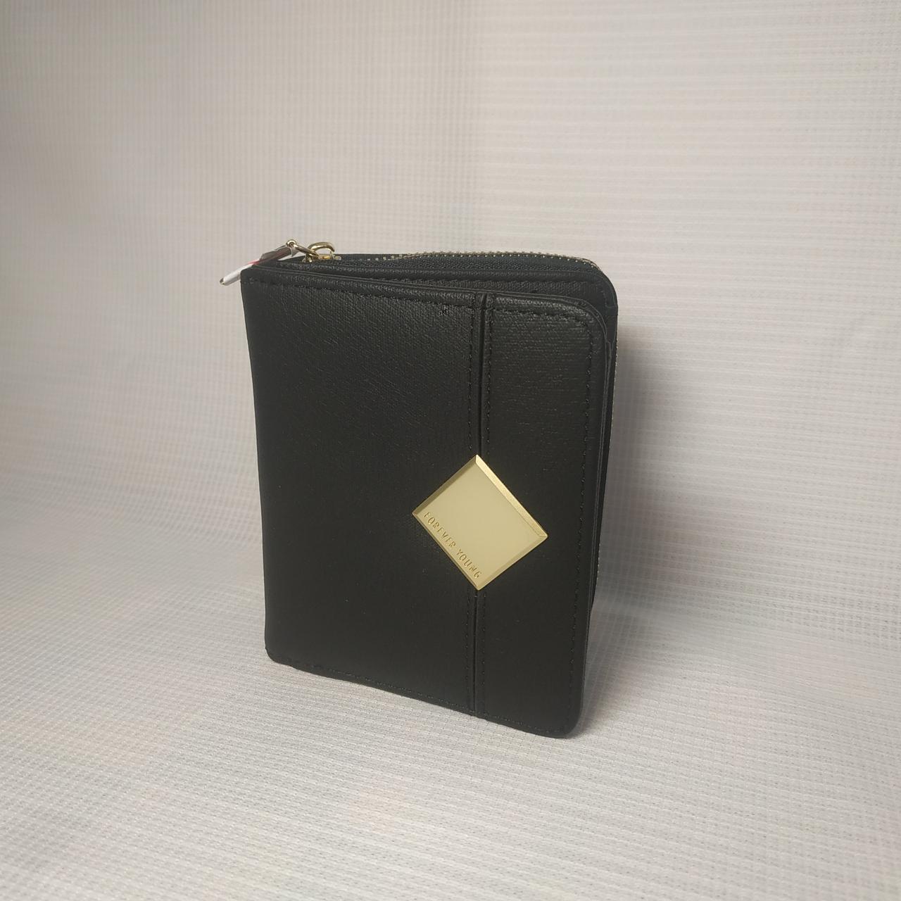 Небольшой классический женский кошелек портмоне из качественной PU кожи KBL-PU-0001