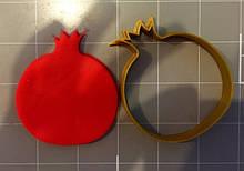 3D формочка для печива - Гранат | Вирубка для печива на замовлення