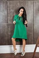 Женское спортивное платье свободного кроя Турецкая двунитка Размер 42-44, 46-48 В наличии 3 цвета