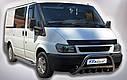 Кенгурятник (защита переднего бампера) Ford Transit 2000-2006, фото 2